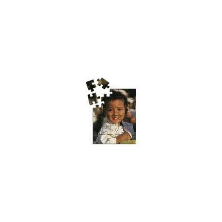 Puzzle en bois 175 x 250 mm personnalisé