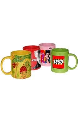 Tasse en céramique de couleur personnalisée
