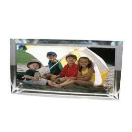 cadre photo en verre personnalisé