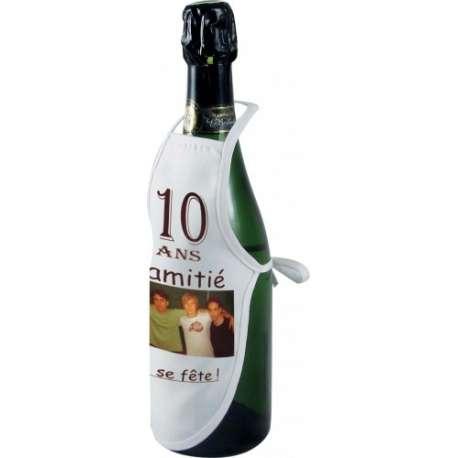 Mini tablier 'bouteille' personnalisé
