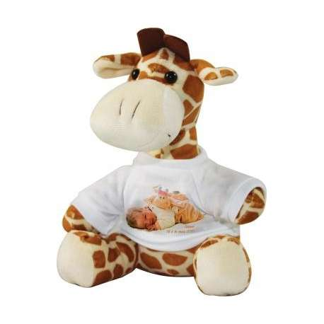 Peluche girafe personnaliser