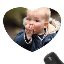 Tapis de souris forme coeur