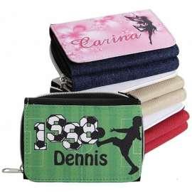 Portefeuille textile personnalisé