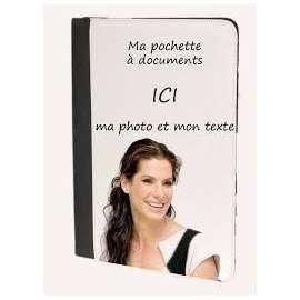 Pochette à documents, personnalisée