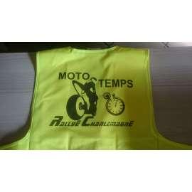 Veste de sécurité jaune fluo